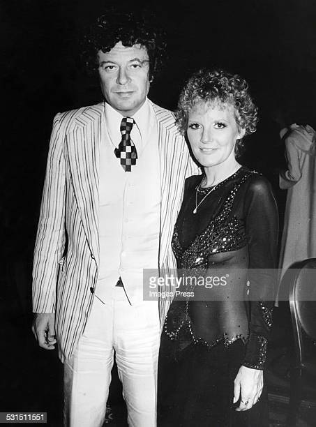Petula Clark and Claude Wolff circa 1975 in New York City