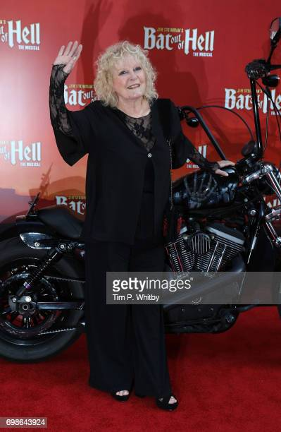 """Petula Clark attends the press night of """"Bat Our Of Hell - The Musical"""" at The London Coliseum on June 20, 2017 in London, England."""