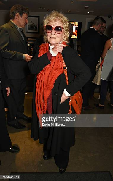 Petula Clark attends the press night of Pure Imagination The Songs of Leslie Bricusse at the St James Theatre on September 29 2015 in London England
