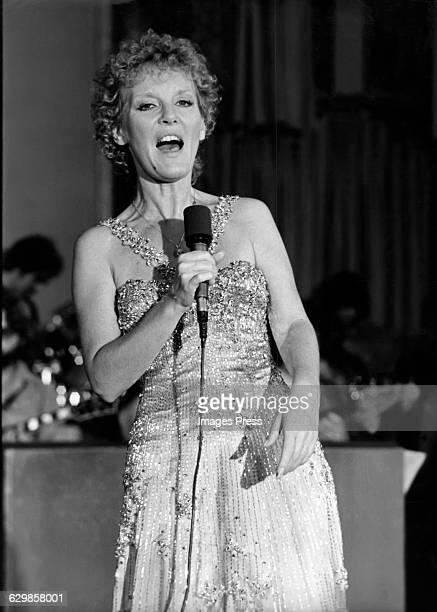 Petula Clark circa 1975 in New York City