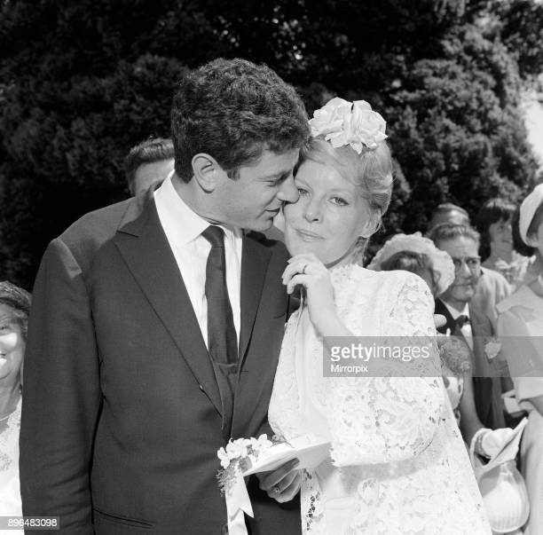 Petula Clark marries Claude Wolff st St Peter's Church in Lodsworth, Sussex. It was their second wedding, after a civil ceremony in France, 25th June...