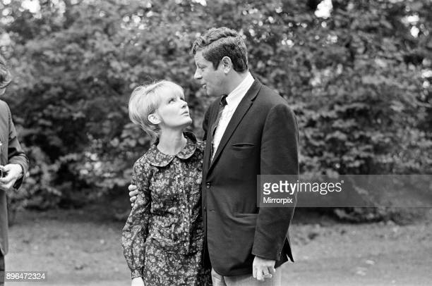 Petula Clark with her husband Claude Wolff 6th June 1966