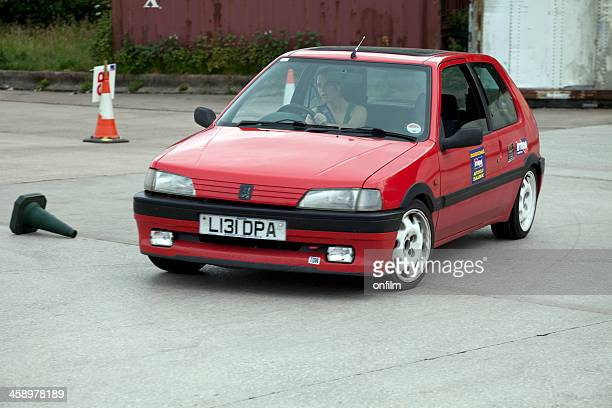 Peugeot 106 at autocross rally event