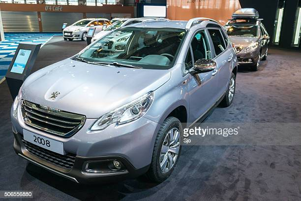 peugeot 2008 compact suv - 2008 stock pictures, royalty-free photos & images