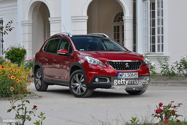 peugeot 2008 - popular crossover - psa stock photos and pictures