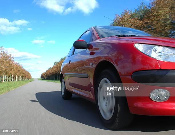 Peugeot 206 driving