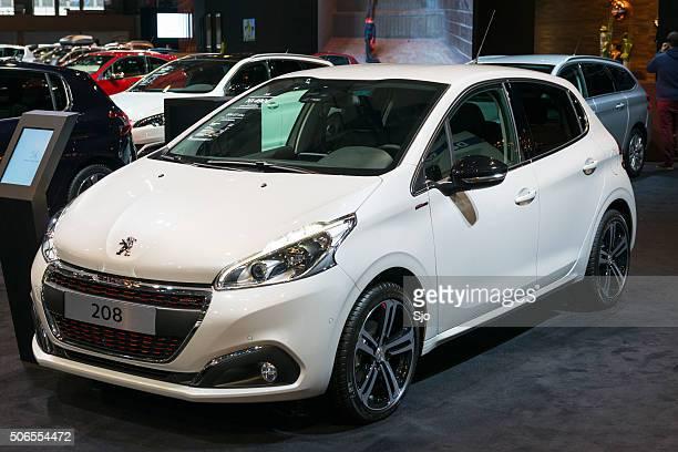 Peugeot 208 compact hatchback car