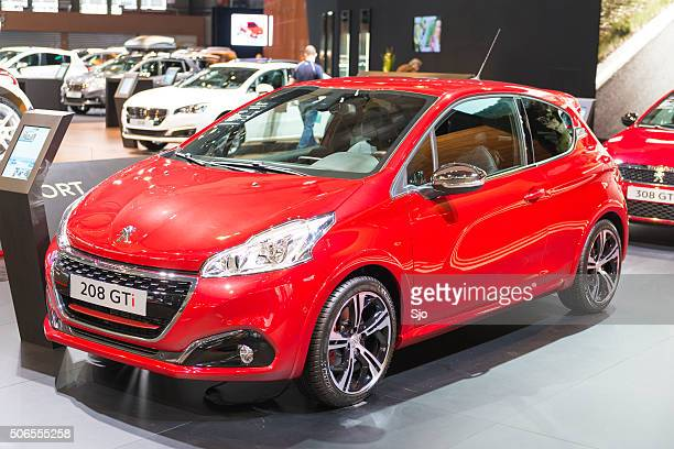 Peugeot 208 GTi compact performance  hatchback car