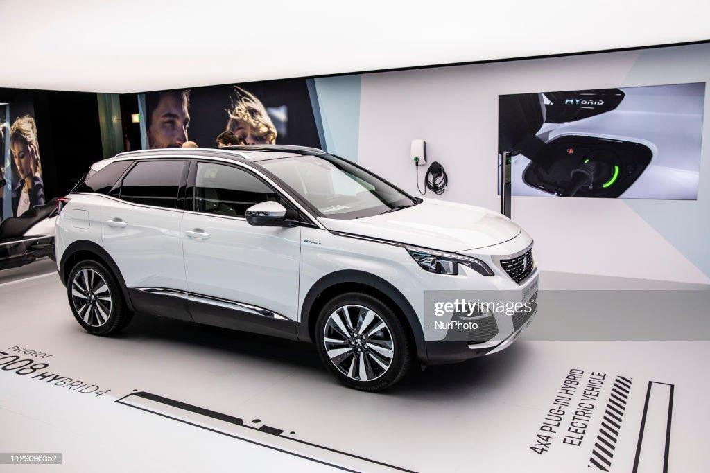 Peugeot 3008 Hybrid 4 During The Geneva International Motor Show