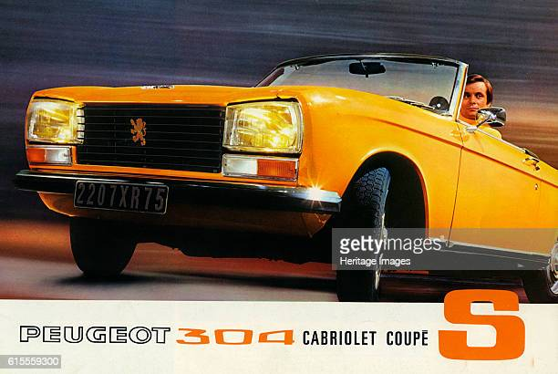 Peugeot 304 Cabriolet S sales brochure Artist Unknown