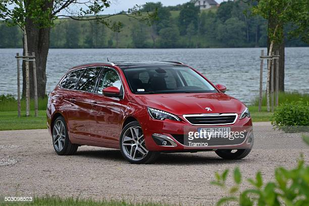 Peugeot 308 SW at the press launch