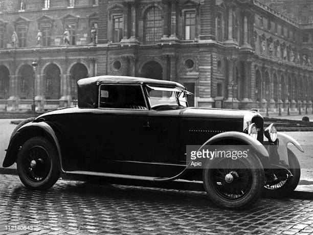 Peugeot car Cabriolet 176 1923