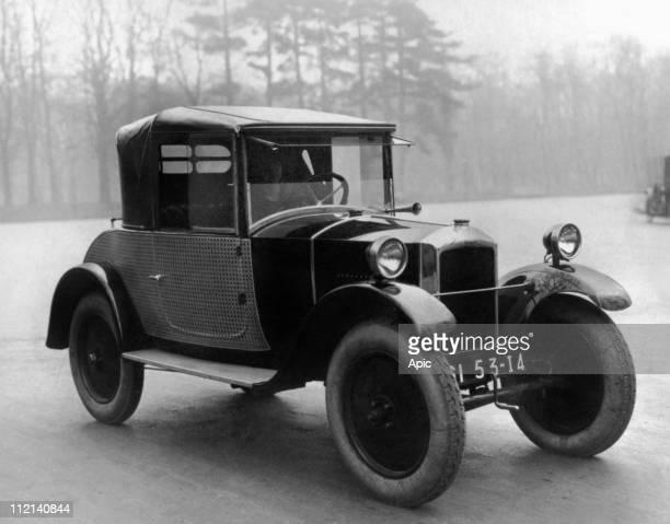 Peugeot car Cabriolet 5CV 172 BC 1924