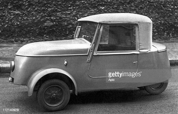 Peugeot car VLV electric car 1941
