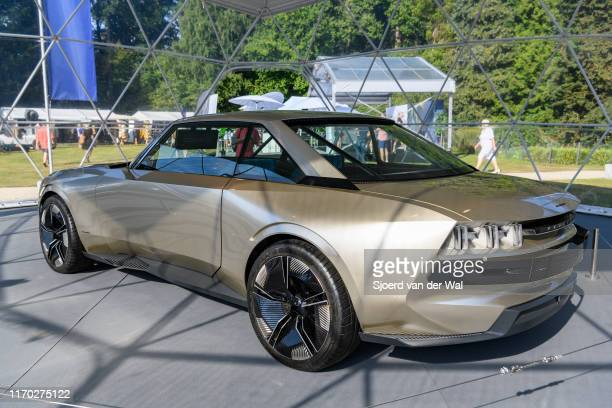 Peugeot eLEGEND CONCEPT on display at the 2019 Concours d'Elegance at palace Soestdijk on August 25 2019 in Baarn Netherlands Inspired by the classic...