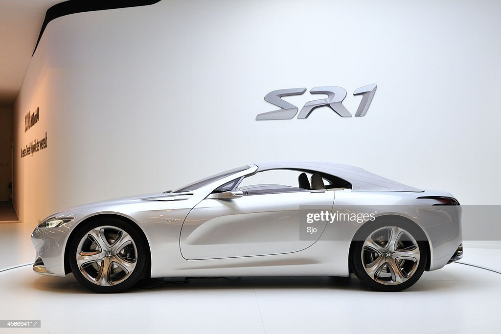 Peugeot Sr1 Stock Photo - Getty Images