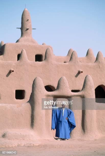 Peul Man at Village Mosque