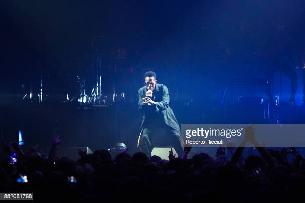 Peven Everett of Gorillaz performs at The SSE Hydro on November 29 2017 in Glasgow Scotland