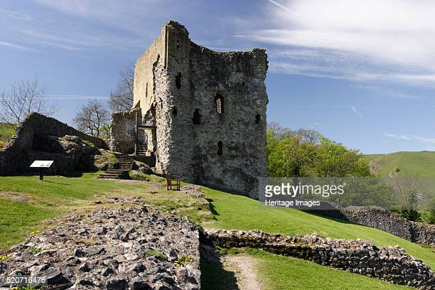 Peveril Castle Castleton Derbyshire The castle was built by William Peverel said to be an illegitimate son of William the Conqueror after he was...