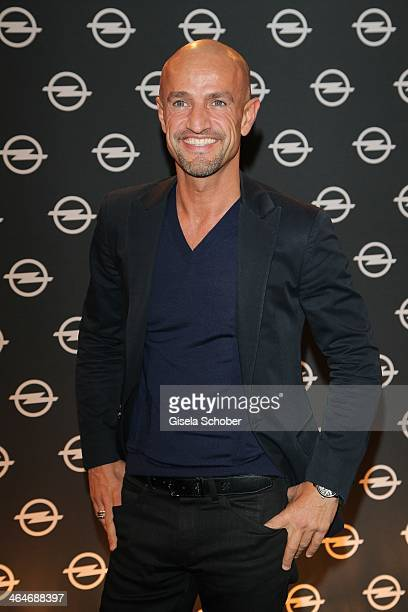 MUNICH GERMANY JANUARY Peyman Amin attends the presentation and vernissage of the calender THE ADAM BY BRYAN ADAMS for Opel at Haus der Kunst on...