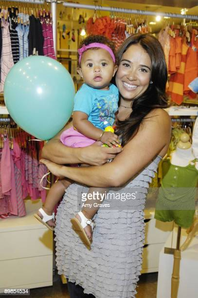 Peyton Edmonds and Nicole Pantenberg attend the Bel Bambini VIP Reception at BelBambini on July 17 2009 in Beverly Hills California
