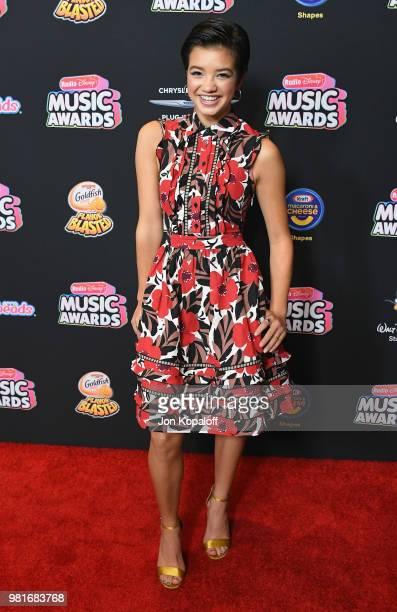 Peyton Elizabeth Lee attends the 2018 Radio Disney Music Awards at Loews Hollywood Hotel on June 22 2018 in Hollywood California