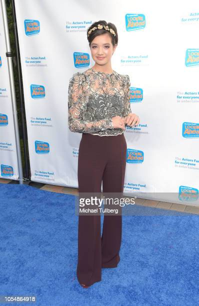Peyton Elizabeth Lee attends the Actor's Funds 2018 Looking Ahead Awards at Taglyan Cultural Complex on October 28 2018 in Hollywood California