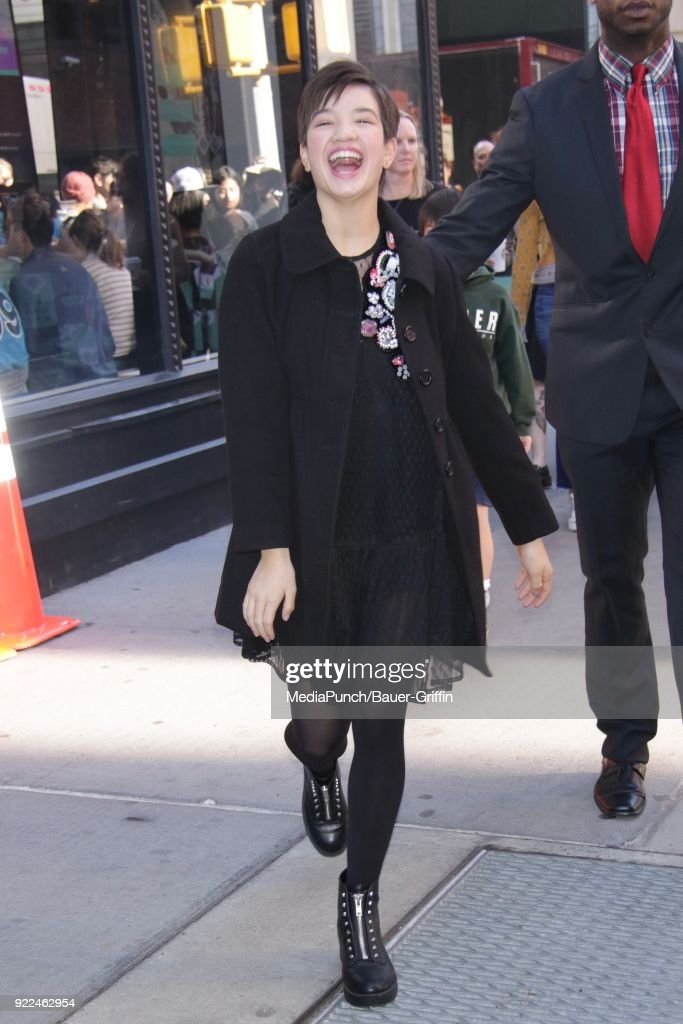 Celebrity Sightings In New York - February 21, 2018 : News Photo