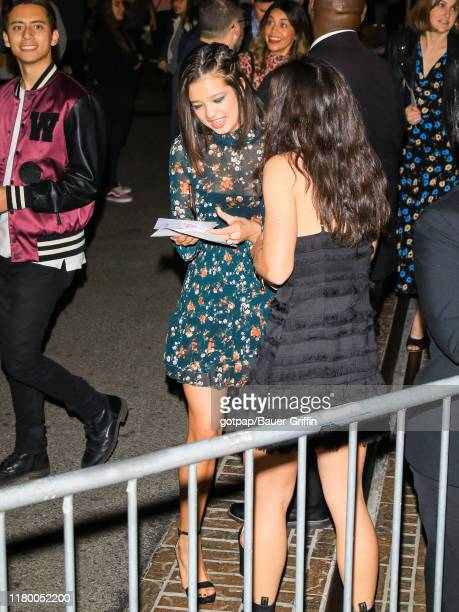 Peyton Elizabeth Lee is seen on November 04, 2019 in Los Angeles, California.