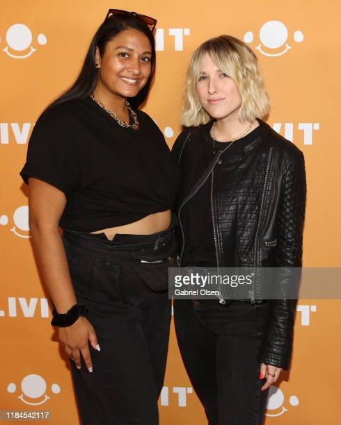 Peyton Incollingo and Shauna Williams attend Trip 'R' Treat with LIVIT LA's Largest Live Streaming Competition on October 30 2019 in Hollywood...