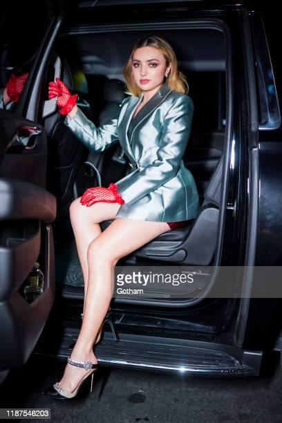 Peyton List attends the 2019 Guggenheim International Gala on November 13 2019 in New York City