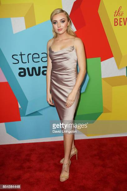Peyton List attends the 7th Annual 2017 Streamy Awards at The Beverly Hilton Hotel on September 26 2017 in Beverly Hills California