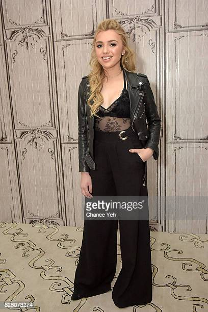 Peyton List attends The Build Series to discuss 'Bunk'd' at AOL HQ on December 6 2016 in New York City
