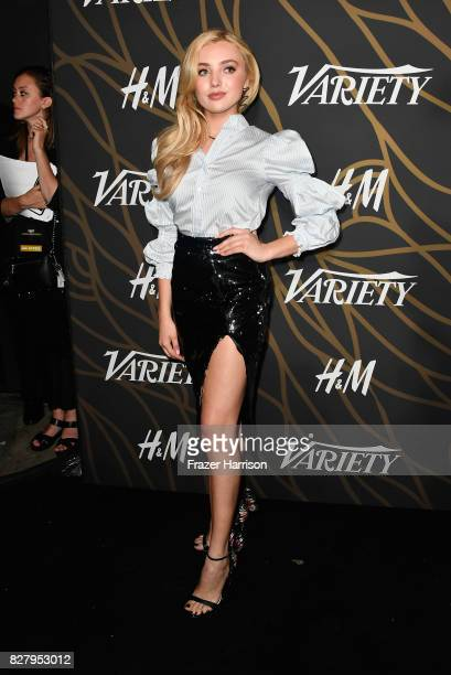 Peyton List attends Variety Power of Young Hollywood at TAO Hollywood on August 8 2017 in Los Angeles California
