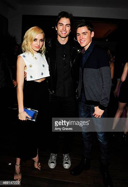 Peyton List Pierson Fode and Spencer List attend Teen Vogue's 12th Annual Young Hollywood Issue Launch Party at a private residence on September 26...