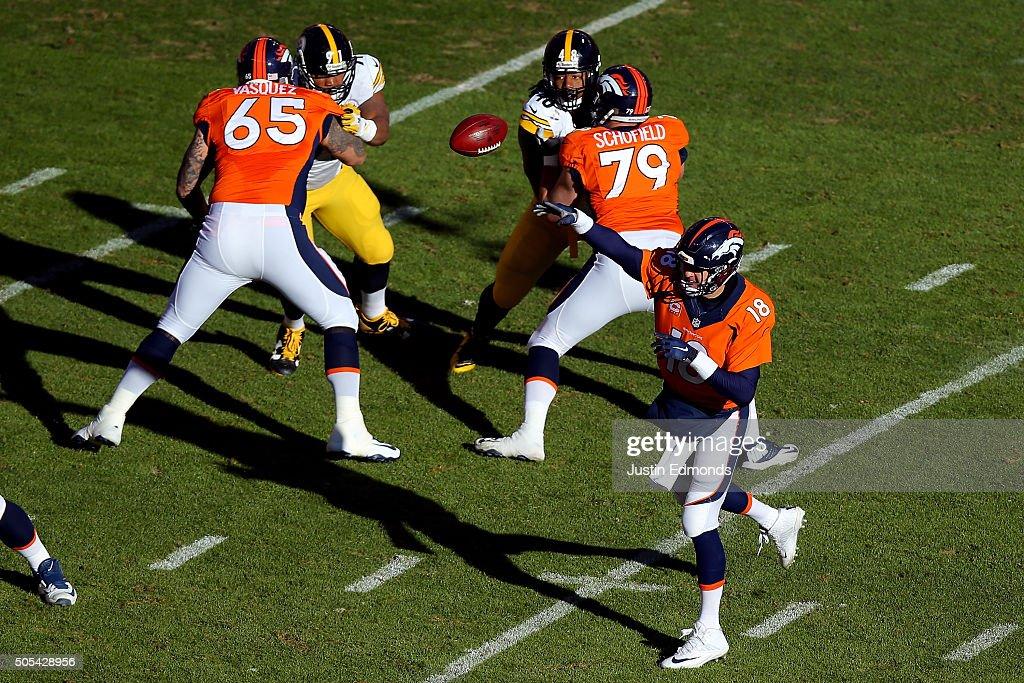 Divisional Round - Pittsburgh Steelers v Denver Broncos : News Photo