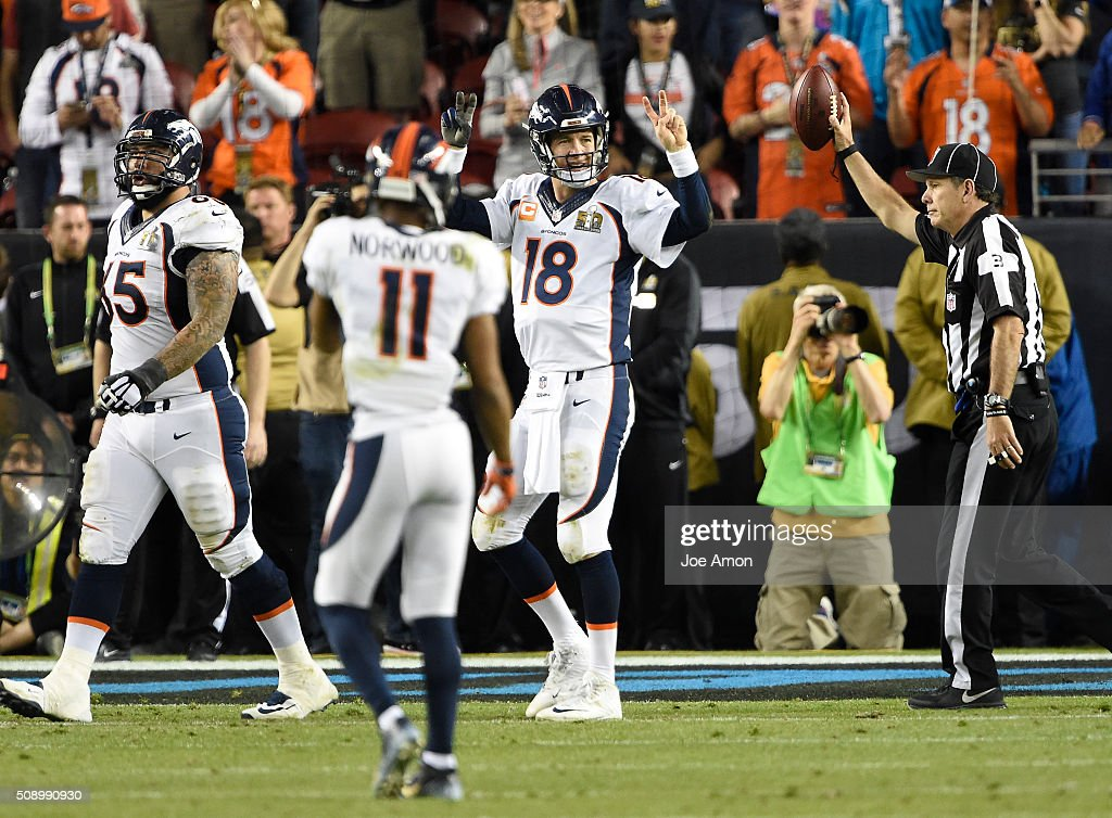 Carolina Panthers vs. Denver Broncos : News Photo