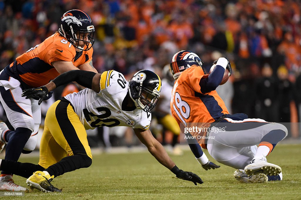 Pittsburgh Steelers vs. Denver Broncos : News Photo