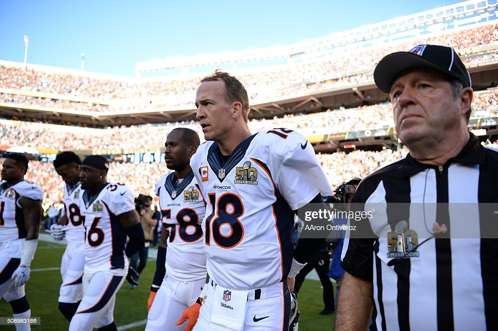 Carolina Panthers vs. Denver Broncos : News Photo