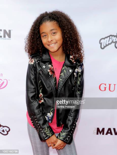 Peyton Nicole Edmonds attends the Mini MavenÕs New Winter issue release party on October 14 2018 in Beverly Hills California