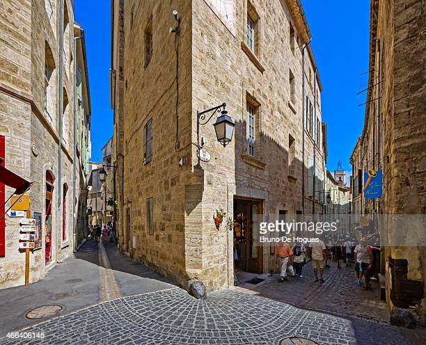 pezenas, france - pezenas stock photos and pictures