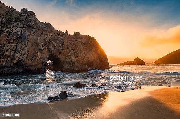 pfeiffer beach california - big sur stock pictures, royalty-free photos & images
