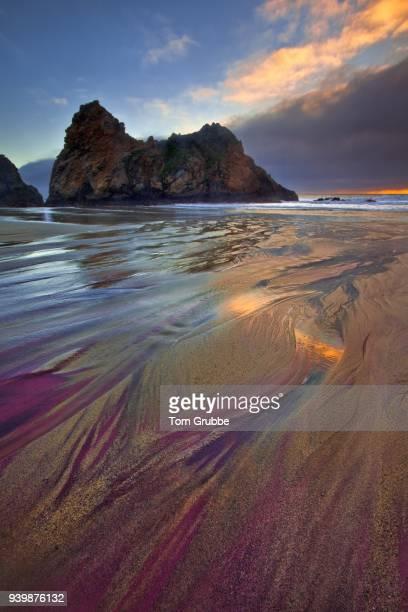 Pfeiffer Beach Sand Stream