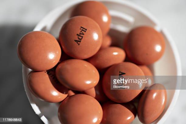 Pfizer Inc Advil brand ibuprofen tablets are displayed for a photograph in Tiskilwa Illinois US on Wednesday Oct 23 2019 Pfizer is scheduled to...