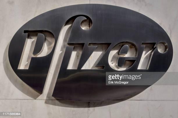 Pfizer Pharmaceuticals World Headquarters building in New York City