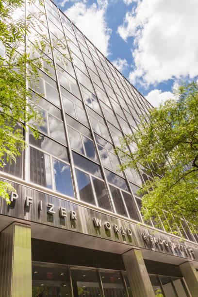 Pfizer World Headquarters, East 42nd Street, Manhattan, New York City, New York, USA
