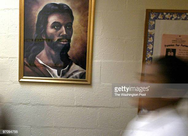 Pg Cover5 042205 Mark Gail Twp A Painting Of Black Hanging Up At Saint Margaret