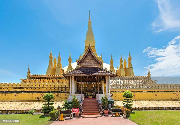 Pha That Luang,Vientiane,Laos