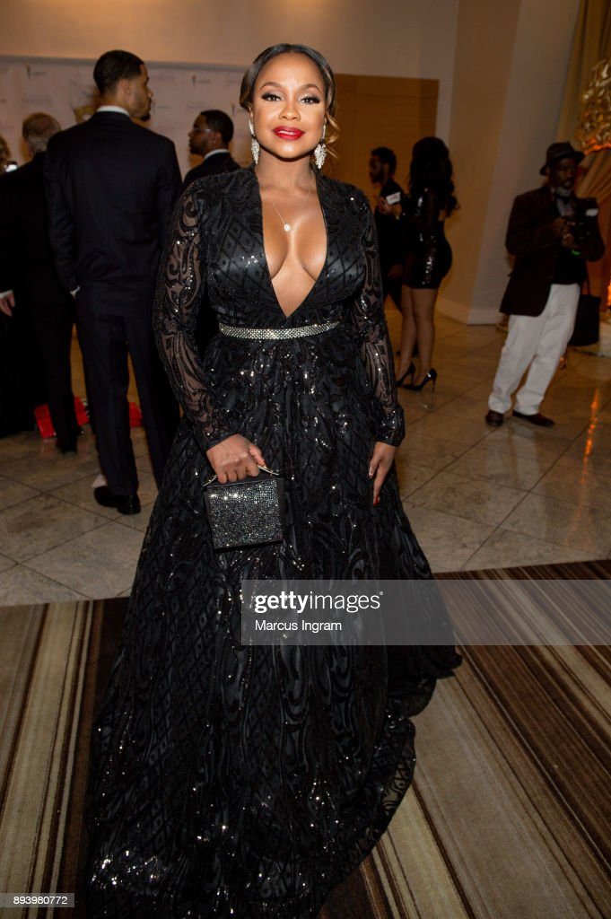 Phaedra Parks attends the 34th Annual UNCF Atlanta Mayor's Masked Ball at Atlanta Marriott Marquis on December 16, 2017 in Atlanta, Georgia.