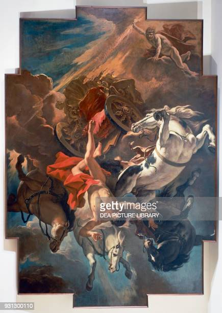 Phaeton gets permission to drive the Sun's chariot but then overturns it Zeus punishes him by throwing him to the mouth of the Po River Fall of...